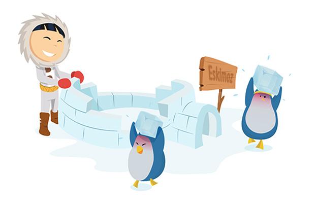 Création de l'agence Eskimoz