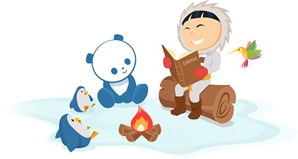 Histoire de l'agence Eskimoz